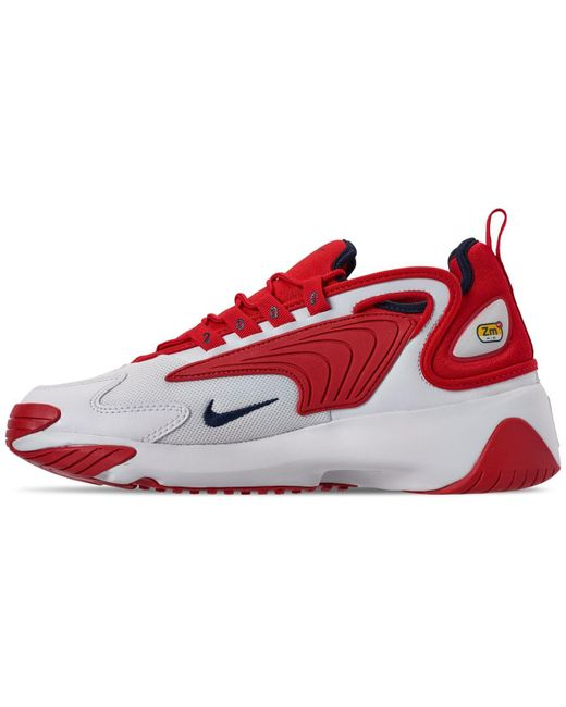 cheaper 5ead8 97a59 ... Nike - Red Zoom 2k Running Sneakers From Finish Line for Men - Lyst ...