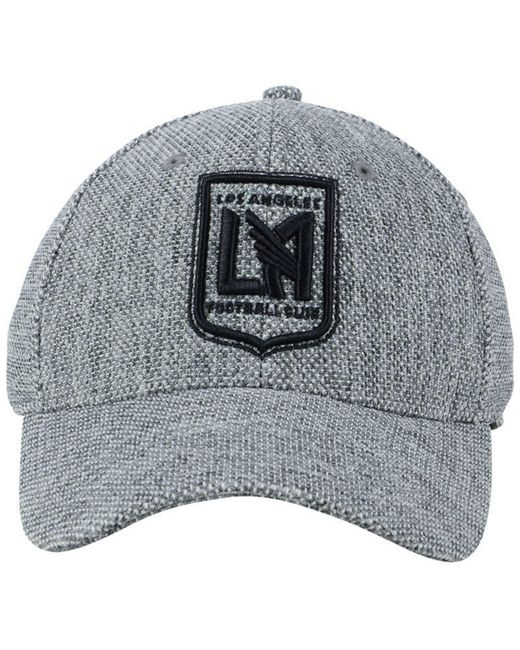 ... inexpensive adidas gray los angeles football club penalty kick flex cap  for men lyst 62c46 00665 0e8ab3983b21