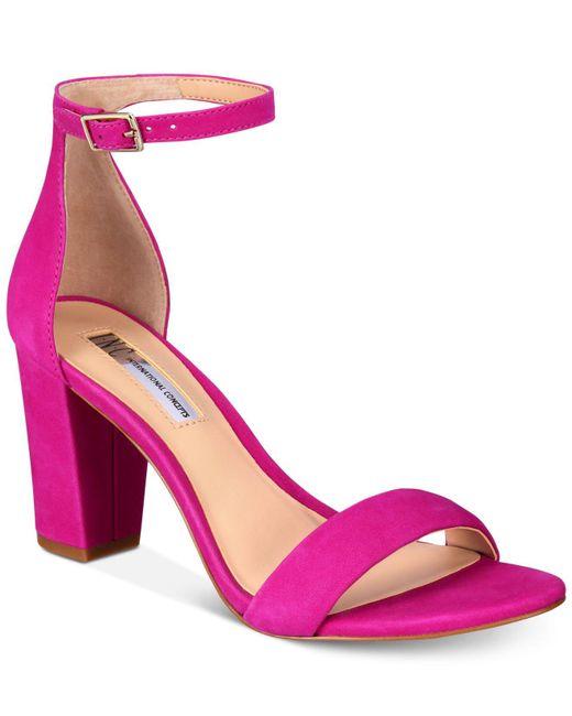 INC International Concepts - Multicolor Kivah Block Heel Dress Sandals - Lyst