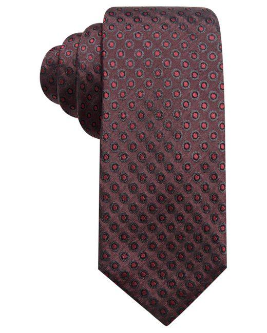 Alfani | Purple Men's Dot Slim Silk Tie for Men | Lyst
