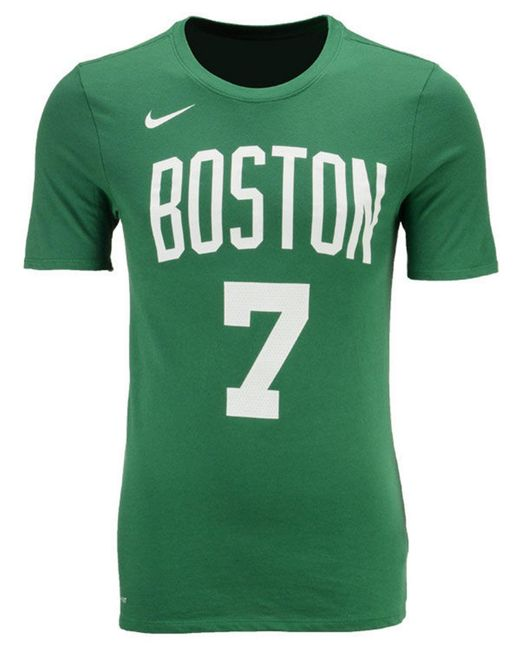 712881639 ... Nike - Green Jaylen Brown Boston Celtics Icon Player T-shirt for Men -  Lyst