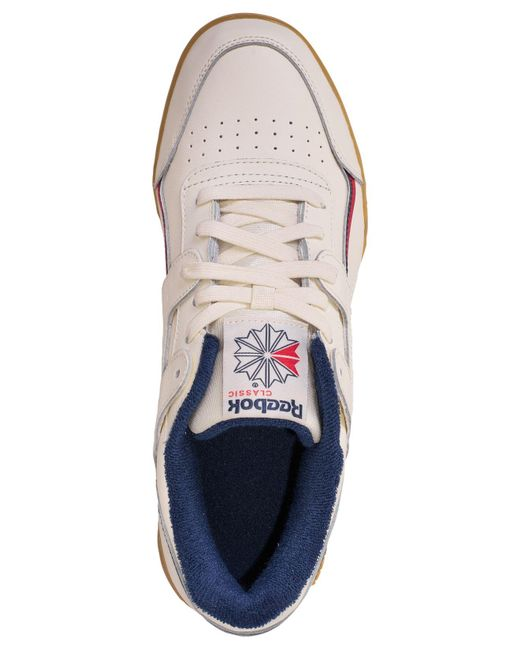 9fd85427cf4634 ... Reebok - White Workout Plus Mu Casual Sneakers From Finish Line for Men  - Lyst ...