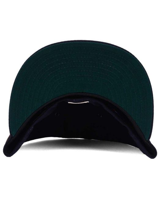 save off 6210a 57539 ... new zealand ktz blue boston red sox x wilson leather front 59fifty  fitted cap for men