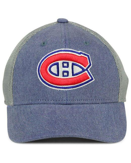 ... Adidas - Blue Montreal Canadiens Geno Flex Cap for Men - Lyst ... 3322e6fe087e