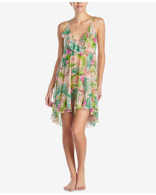 Betsey Johnson - Pink Ruffled Nightgown - Lyst