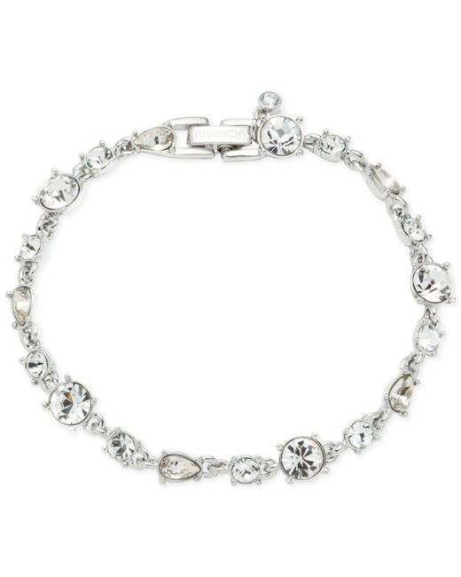 Givenchy - Metallic Crystal Flex Bracelet - Lyst