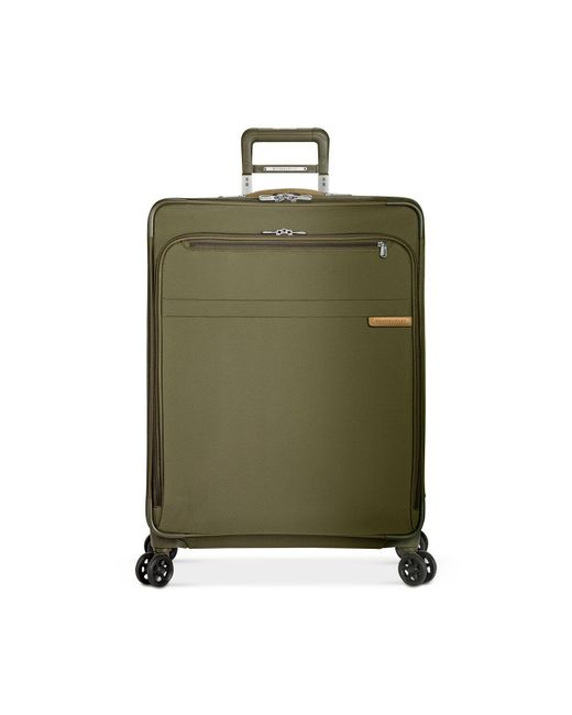 """Briggs & Riley - Green Baseline 28"""" Large Expandable Spinner Suitcase - Lyst"""