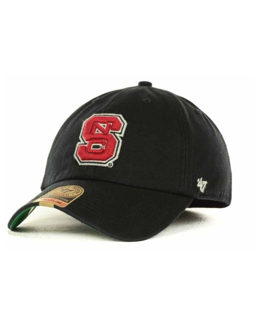 best sneakers 58bb6 55afe clearance 47 brand black north carolina state wolfpack franchise cap for  men lyst e1b92 e78f2