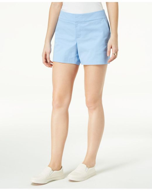 "Maison Jules - Blue 6"" Shorts, Created For Macy's - Lyst"