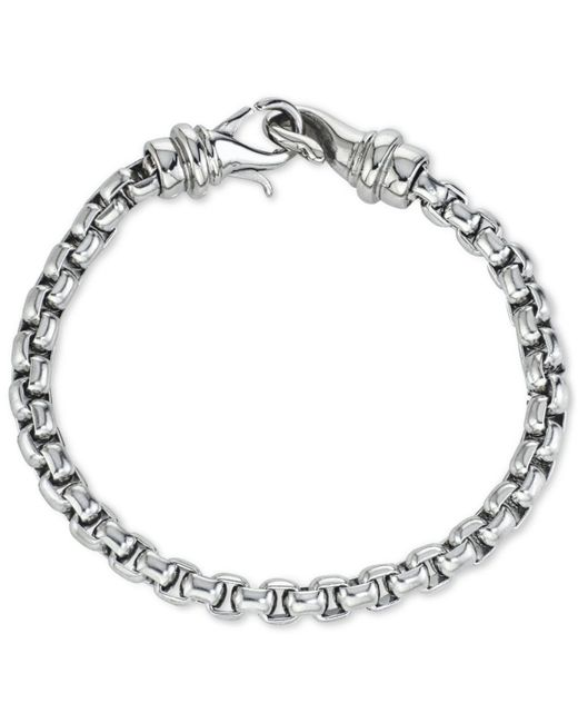 Macy's - Metallic Linked Bracelet In Stainless Steel, Created For - Lyst