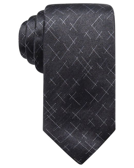 Alfani | Black Men's Reed Dash Silk Tie, Created For Macy's for Men | Lyst