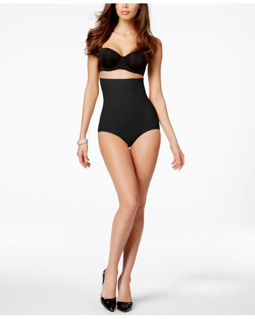 Spanx - Black High Power Panty - Lyst