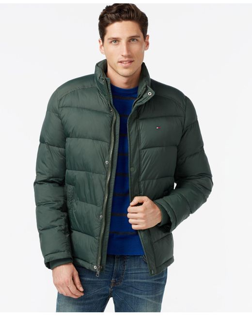 Tommy Hilfiger - Green Classic Puffer Jacket for Men - Lyst