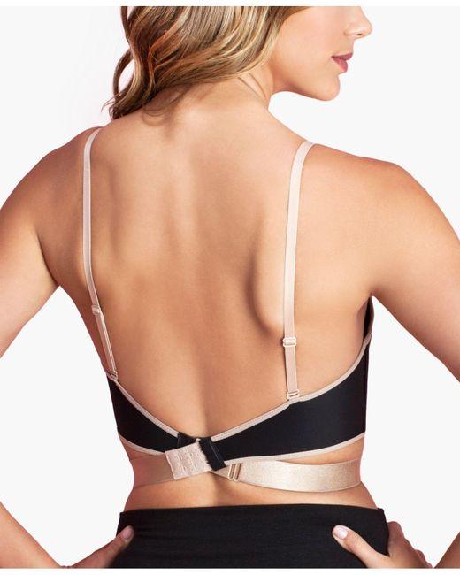 Fashion Forms | Black Adjustable Low Back Strap Bra Mc415 | Lyst