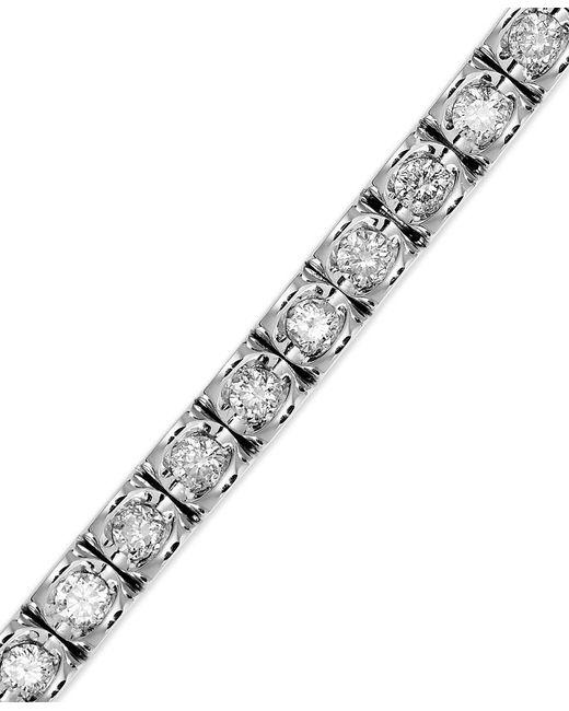 Macy's   Multicolor Diamond Bracelet In 14k Yellow Or White Gold (2 Ct. T.w.)   Lyst