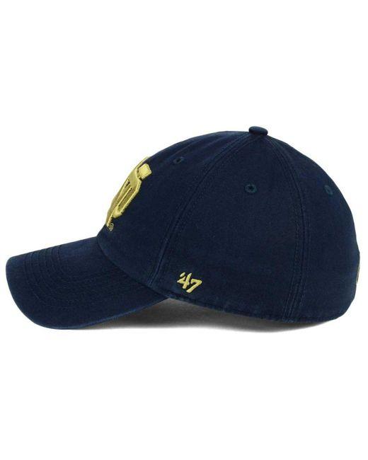 0ddf36921f7 ... 47 Brand - Blue Notre Dame Fighting Irish Franchise Cap for Men - Lyst  ...