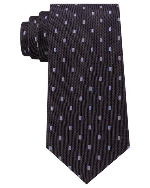 Michael Kors | Black Michael 3 Bar Dip Slim Tie for Men | Lyst