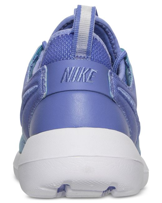 ... Nike | Blue Roshe Two Breeze Casual Sneakers From Finish Line | Lyst ...
