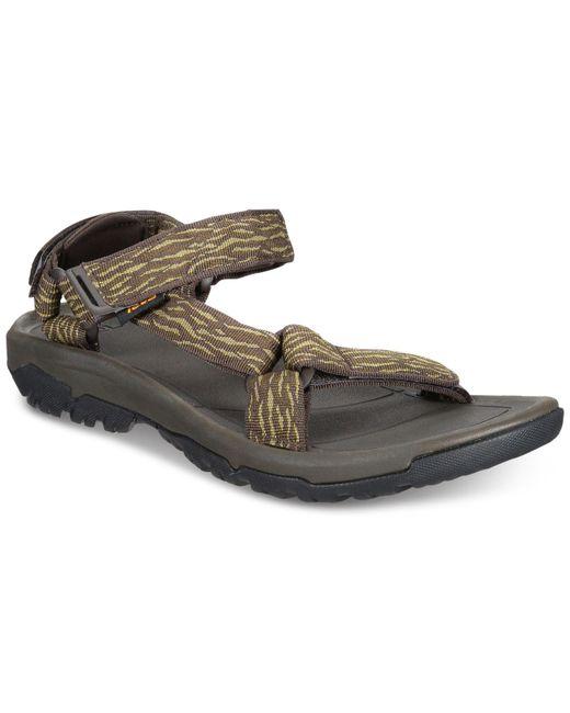 Teva Black Hurricane Xlt2 Water-resistant Sandals for men