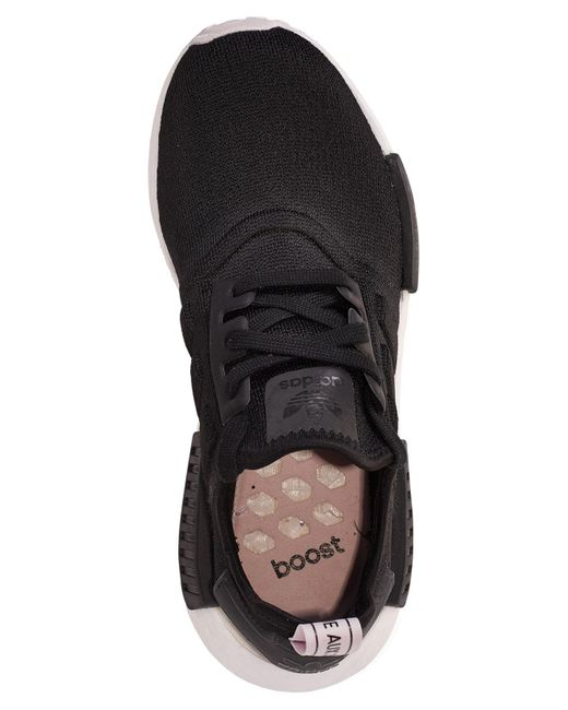 619ddc2d5 ... Adidas - Black Nmd R1 Casual Sneakers From Finish Line - Lyst ...