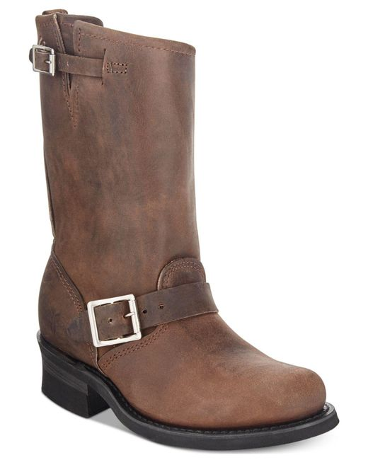 Frye | Brown Engineer Boots for Men | Lyst