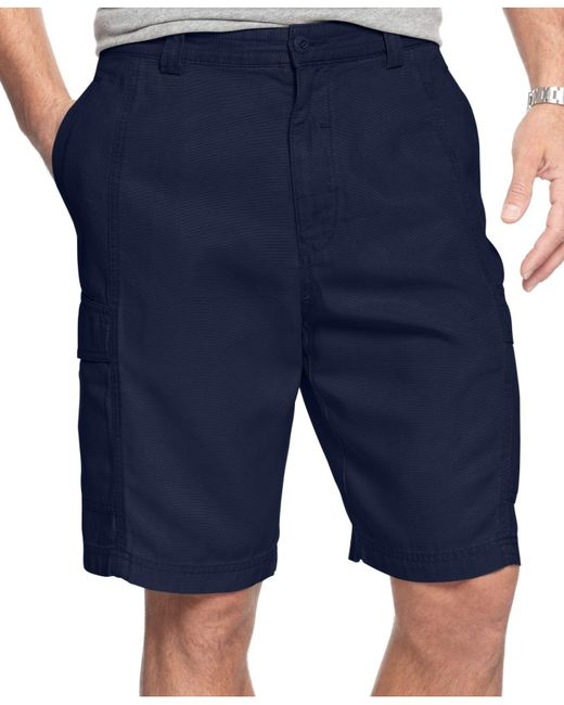 Tommy Bahama - Blue 'key Grip' Relaxed Fit Cargo Shorts for Men - Lyst