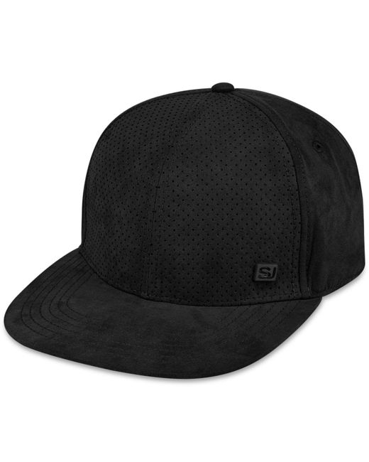 Sean John - Black Men's Faux-suede Perforated Hat for Men - Lyst