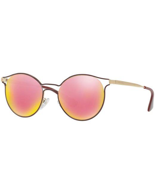 Prada - Pink Sunglasses, Pr 62ss Cinema - Lyst