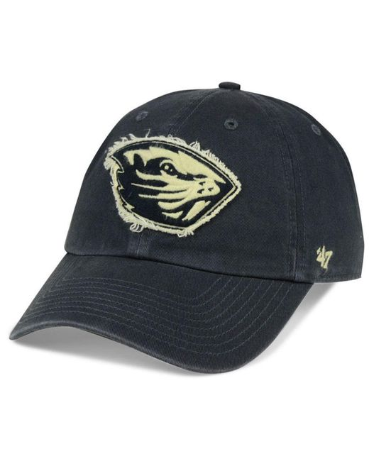 7b619dfc0ef1c ... closeout 47 brand blue oregon state beavers double out clean up cap for  men lyst a839b