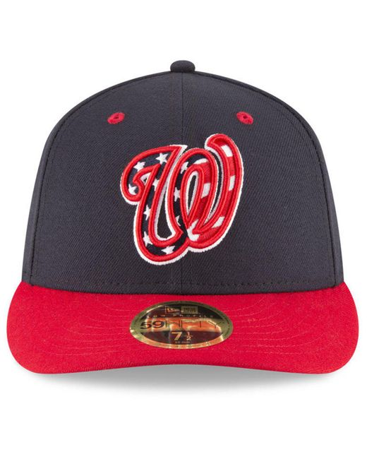 newest 1b3ed 43568 ... wholesale ktz blue washington nationals washington all star game patch  low profile 59fifty fitted cap for