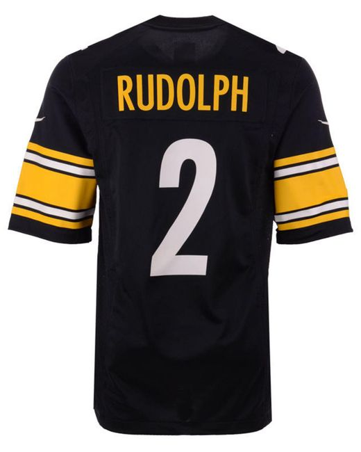 Nike - Black Mason Rudolph Pittsburgh Steelers Game Jersey for Men - Lyst  ... 62e791217