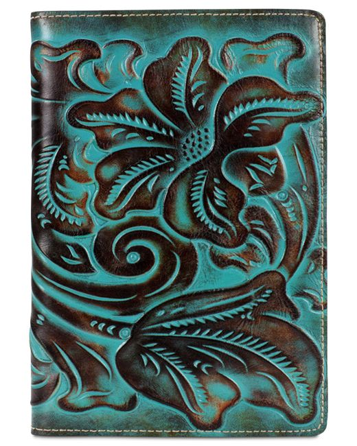 Patricia Nash | Multicolor Turquoise-tooled Vinci Refillable Notebook | Lyst