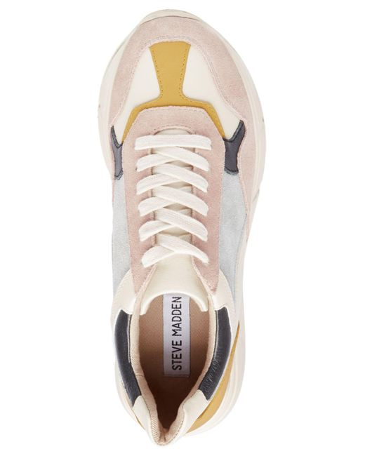 79f7c4f53cc ... Steve Madden - Multicolor Memory Chunky Sneakers - Lyst ...