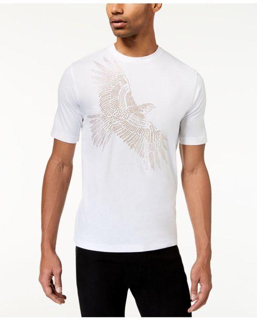 Sean John   White Men's Graphic-print T-shirt for Men   Lyst