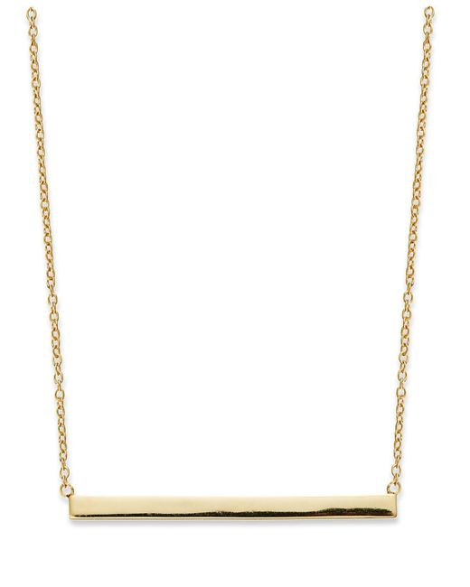 Giani Bernini - Metallic Sterling Silver Necklace, Bar Necklace - Lyst