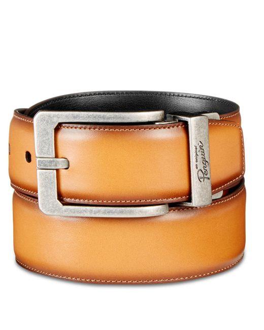 Original Penguin - Brown Amigo Reversible Leather Belt for Men - Lyst