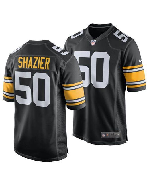 Nike - Black Ryan Shazier Pittsburgh Steelers Game Jersey for Men - Lyst ... 00d62d463