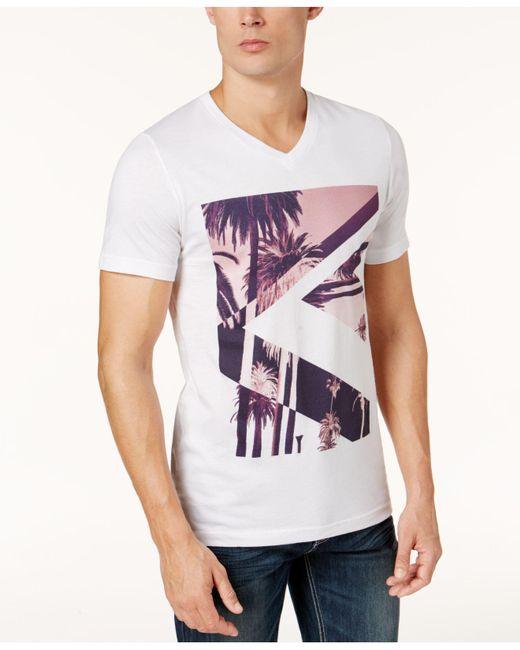 INC International Concepts - Gray Men's Graphic-print T-shirt for Men - Lyst