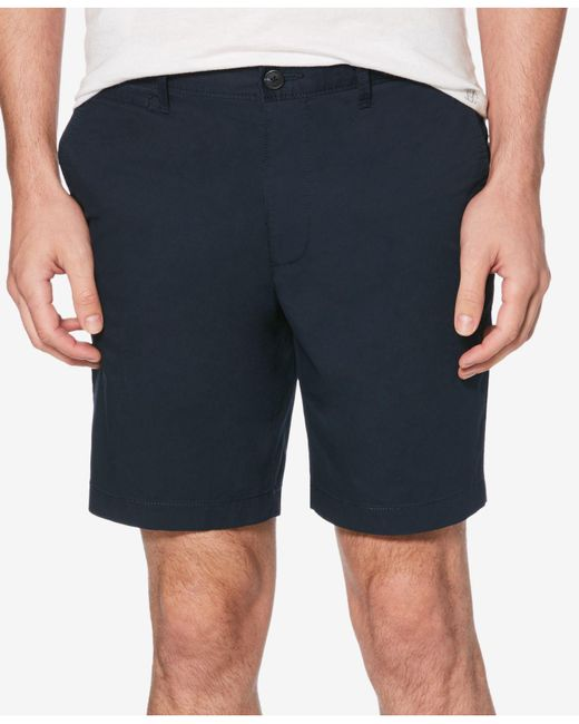 "Original Penguin - Blue 8"" Slim-fit Shorts for Men - Lyst"