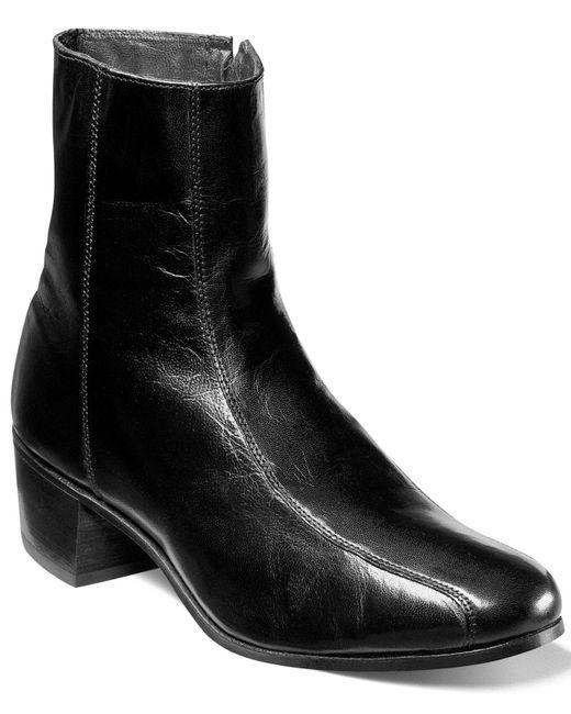 Florsheim - Black Shoes, Duke Bike Toe Ankle Boots for Men - Lyst