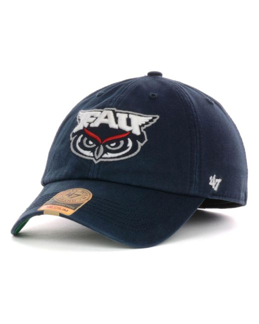 47 Brand | Blue Florida Atlantic Owls Ncaa '47 Franchise Cap for Men | Lyst