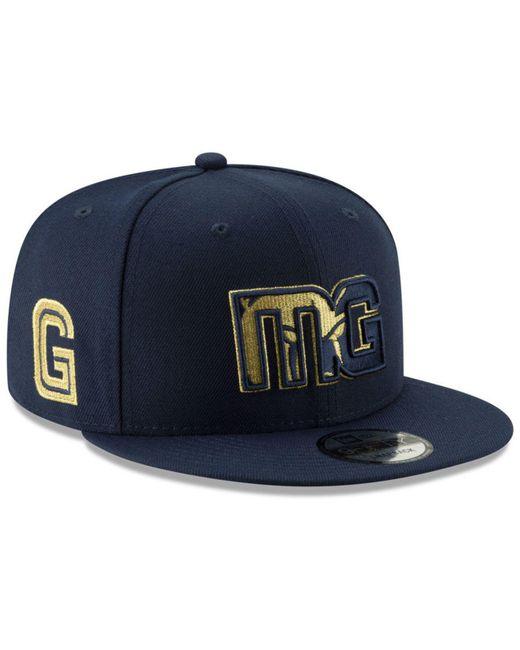 KTZ - Blue Memphis Grizzlies Mishmash 9fifty Snapback Cap for Men - Lyst ... b57329666af