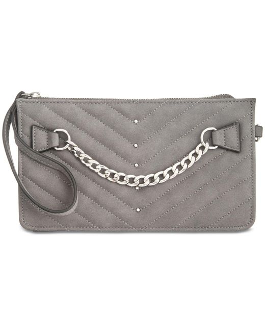 INC International Concepts | Gray Kennah Quilted Convertible Small Wristlet Crossbody | Lyst
