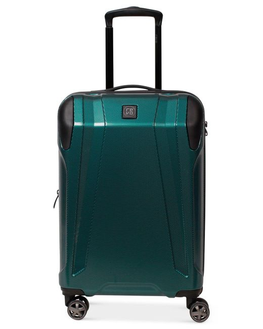 "Revo - Green Apex 21"" Expandable Hardside Spinner Suitcase - Lyst"