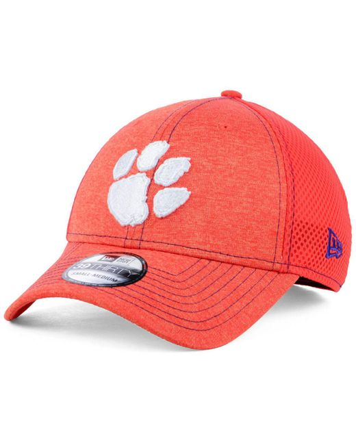 403531d85ac KTZ - Orange Clemson Tigers Classic Shade Neo 39thirty Cap for Men - Lyst  ...