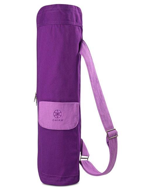 Gaiam | Purple Yoga Mat Bag | Lyst