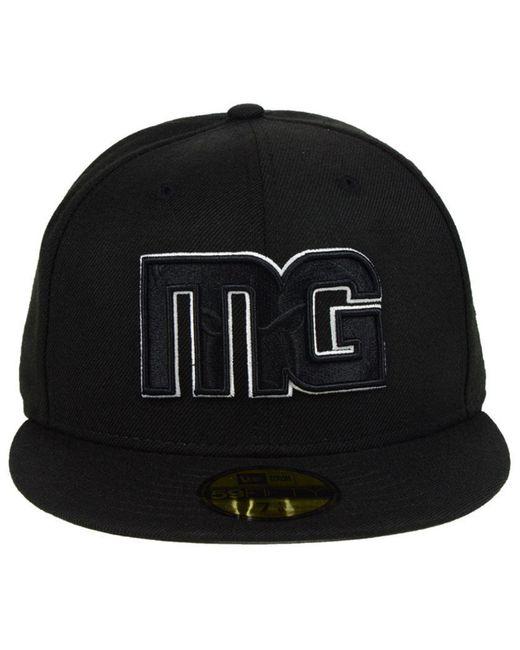 wholesale dealer 52c44 34508 ... KTZ - Black Memphis Grizzlies Combo Logo 59fifty Fitted Cap for Men -  Lyst ...