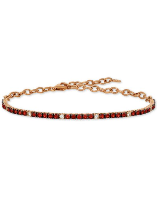 Le Vian - Red ® Blueberry (1-1/3 Ct. T.w.) & Vanilla (1/5 Ct. T.w.) Sapphire Bracelet In 14k Rose Gold (also Available In Emerald & Ruby) - Lyst