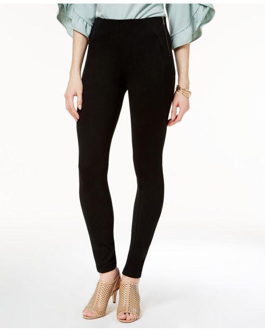 Style & Co. | Black Petite Ponté-knit Leggings | Lyst