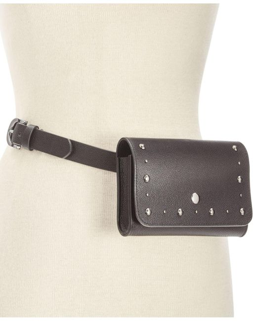 INC International Concepts | Black Stud Border Fanny Pack | Lyst